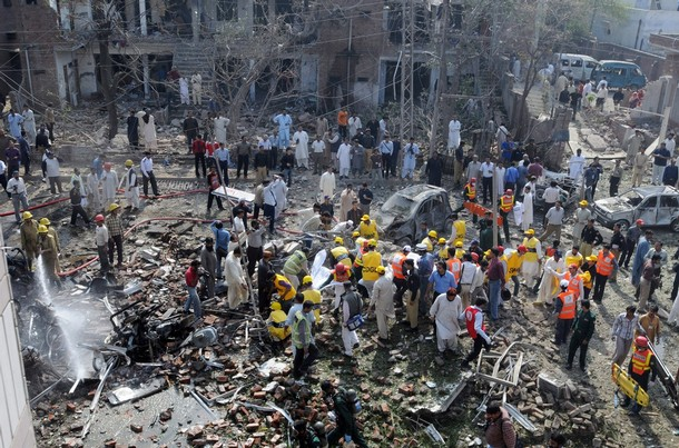 Pakistan mourns as death toll reaches 70 after suicide blast at Lahore park