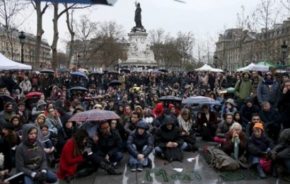 Extended protest movements in France