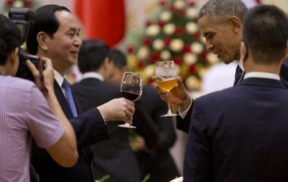 President Barack Obama visited Vietnam