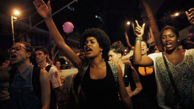 Sexual assault in Rio de Janeiro shocks social media
