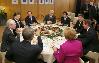 G-7 Leaders meet in Japan