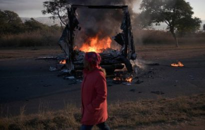 Tshwane, Pretoria – chaos after elections protests