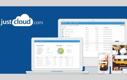 Cloud storage from JustCloud – now available at special rates