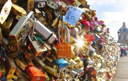 Paris Bridge Locks Auction – Love Locks for Sale