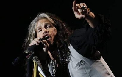 Steven Tyler, lead-singer of Aerosmith, visits Israel