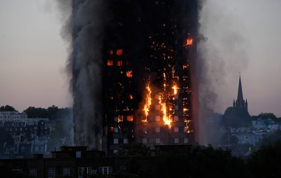 London Grenfell Tower Fire Records Several Deaths