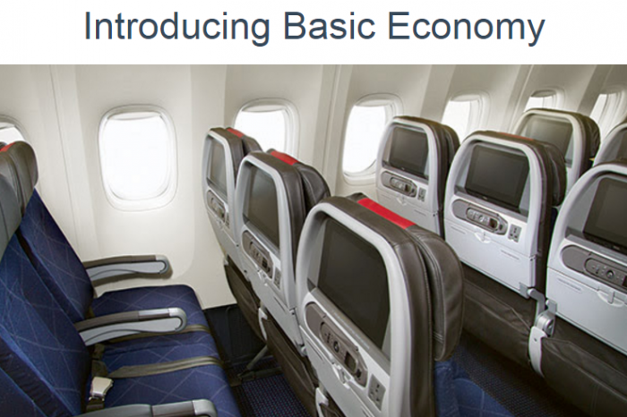 """Introducing """"Basic Economy"""" – You Now Pay More to Fly"""