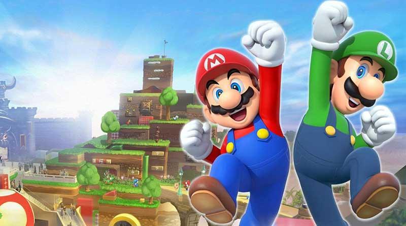 Nintendo Theme Park Opens Nintendo World at Universal Studios Japan
