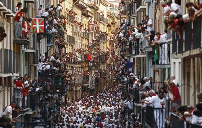 Pamplona bull-run – an abusive tradition