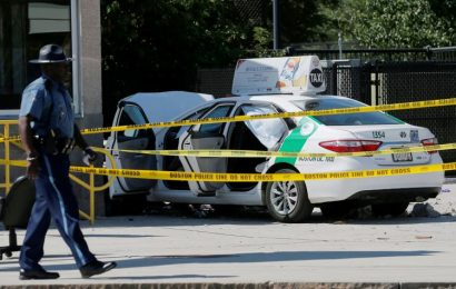Boston Taxi Strikes Cab Drivers, Hurts 10