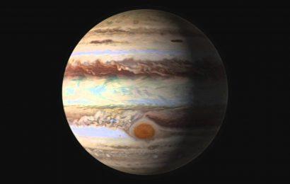"NASA Sends Spacecraft Over ""Eye of Jupiter"""