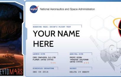 Last Day to Get Your Boarding Pass to Mars