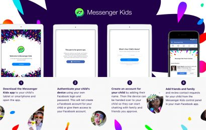 Facebook's 'Messenger Kids' Will Allow Under-13s Chat With Parents' Approval