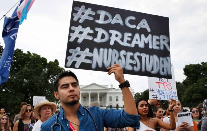 California Judge Blocks Trump Administration's Plan on DACA
