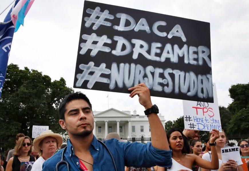 California Judge Blocks Trump Administration's Plan on DACA