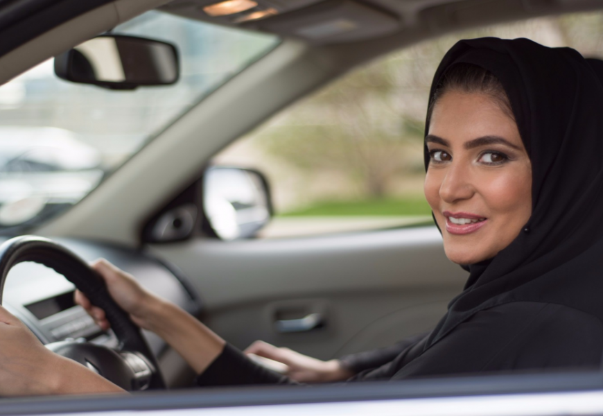 Women in Saudi Arabia are officially allowed to drive