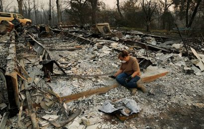California's Mendocino Complex Fires Kill Another Firefighter