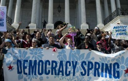 """Democracy Spring"" protests in DC led to arrests"