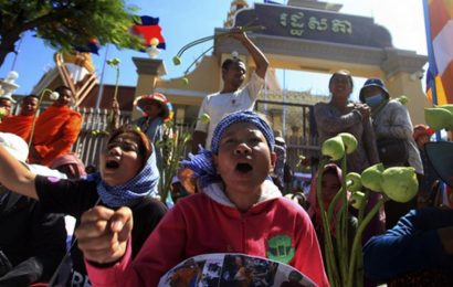 Political tensions are escalating in Cambodia