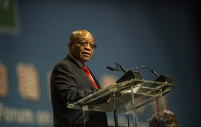 "South Africa's President: the economy is ""weathering the storm"""