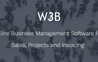 W3B announces special offer for the first cloud software with CRM