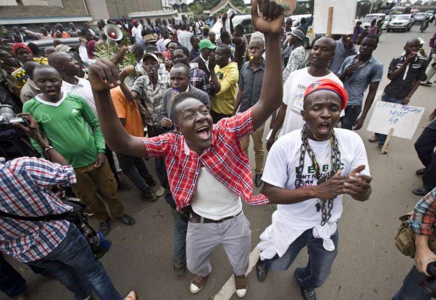 Social media in Kenya protests over Electoral Commission reform