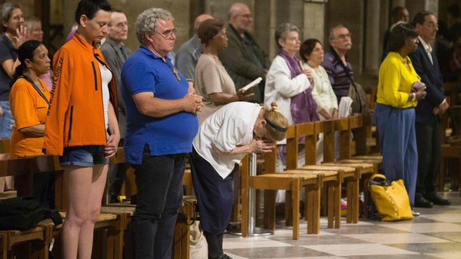 French priest from a church near Rouen was killed in an ISIS claimed attack