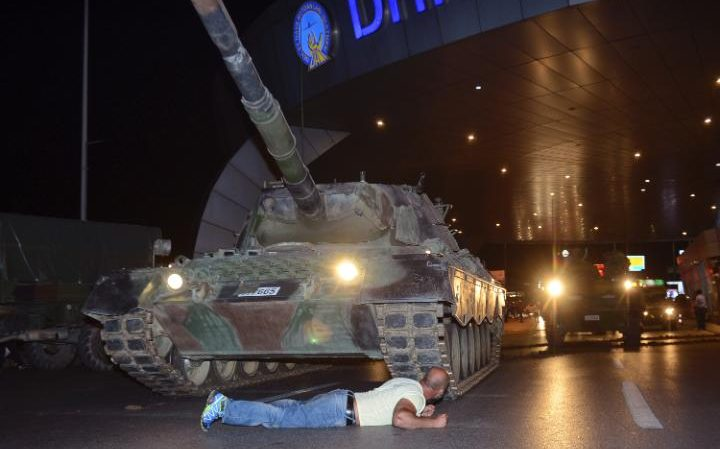 Coup attempt in Turkey: the story in pictures