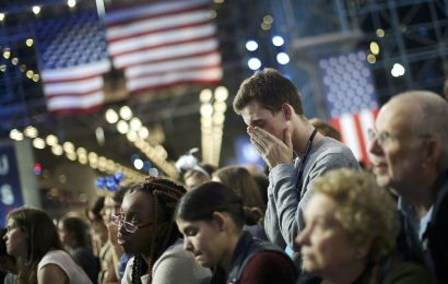 New survey shows the general political climate is a source of stress