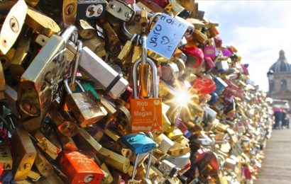 Paris Bridge Locks Auction – Love Locks for Sale