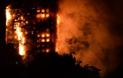 London Grenfell Tower Fire – In Pictures
