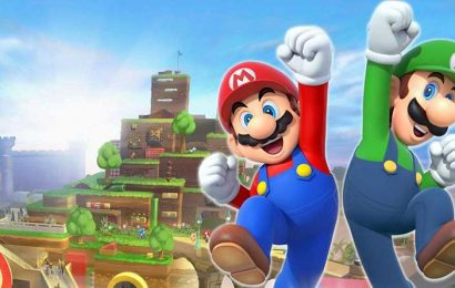Nintendo Theme Park Opens Nintendo World at Universal Studios Japan