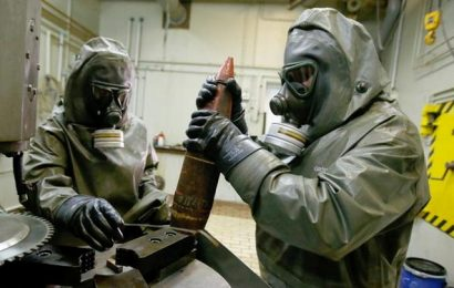 U.S. Identified Possible Preparations for a Syrian Chemical Attack