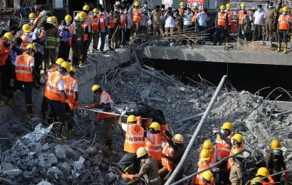 India – Collapsed Building Kills at Least 12 People