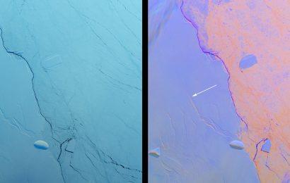 NASA Shares Impressive Picture of New Antarctic Iceberg