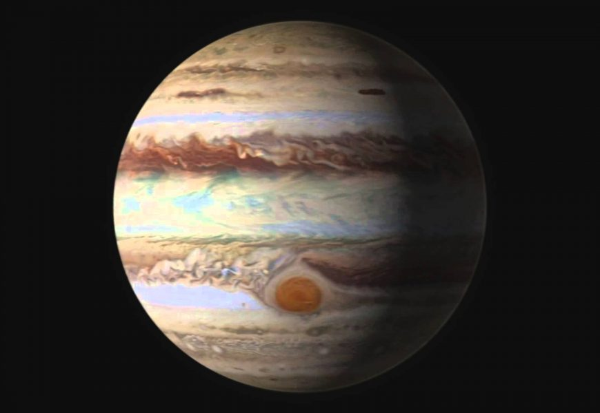 "NASA Sends Spacecraft Over ""Eye of Jupiter"""