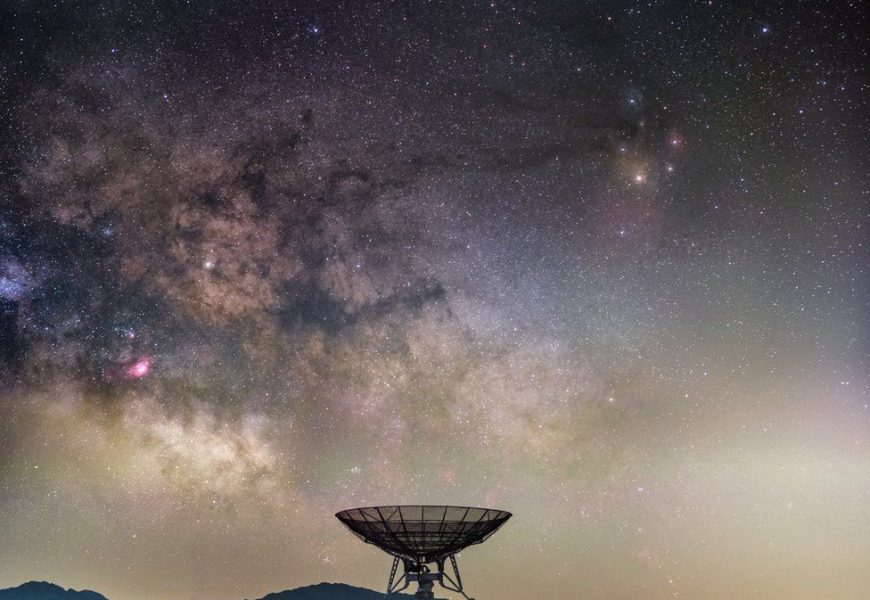 Amazing night-sky photographs – astronomy at a glance