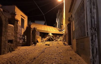 Severe Earthquake Hits Island of Ischia, Italy