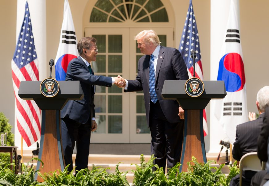 Trump Promised South Korea to Seek Consent Before Striking the North