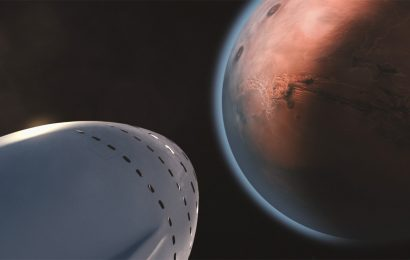 Elon Musk's Vision on Mars Involves Big Rocket