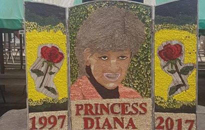 "Floral Tribute of Princess Diana – ""A Disgrace"" According to Social Media Users"