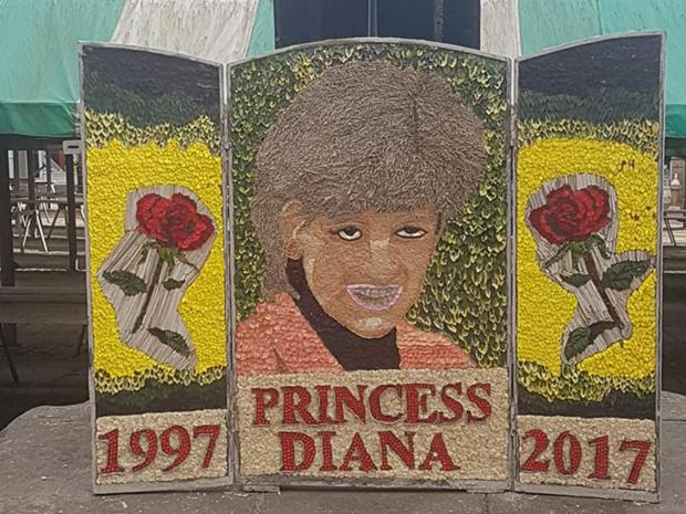"""Floral Tribute of Princess Diana – """"A Disgrace"""" According to Social Media Users"""