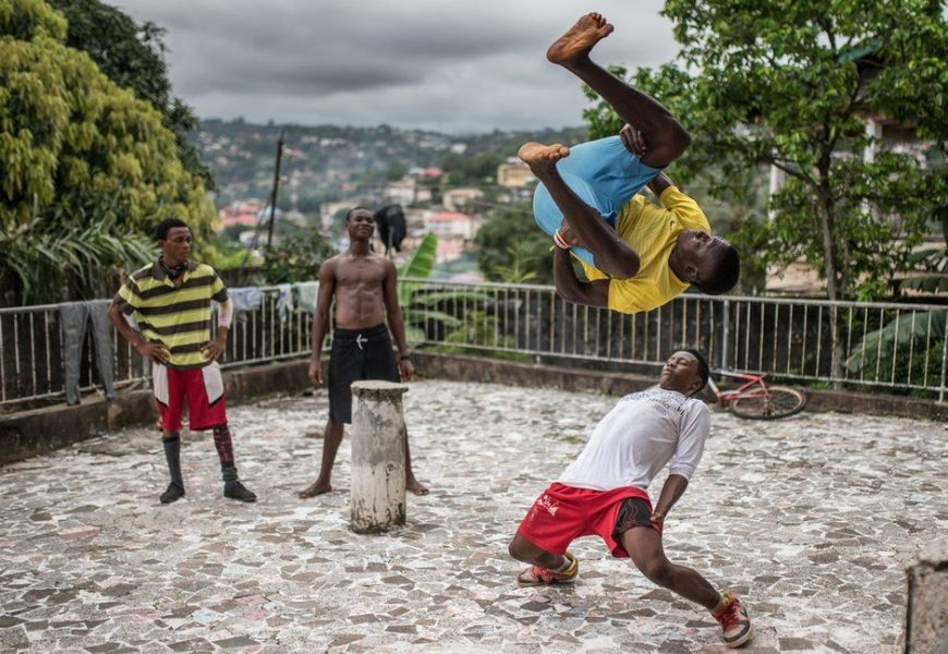 In Pictures – Sierra Leone Street Dancers