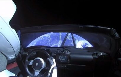 Orbiting Tesla Roadster Might Stay in Space a Long Time