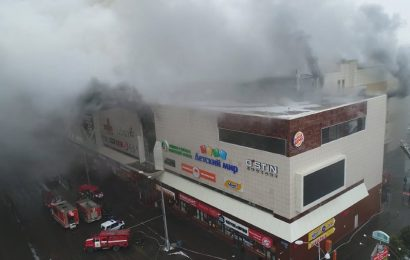 Kemerovo, Siberia: Fire Kills at Least 64 Persons at A Shopping Mall
