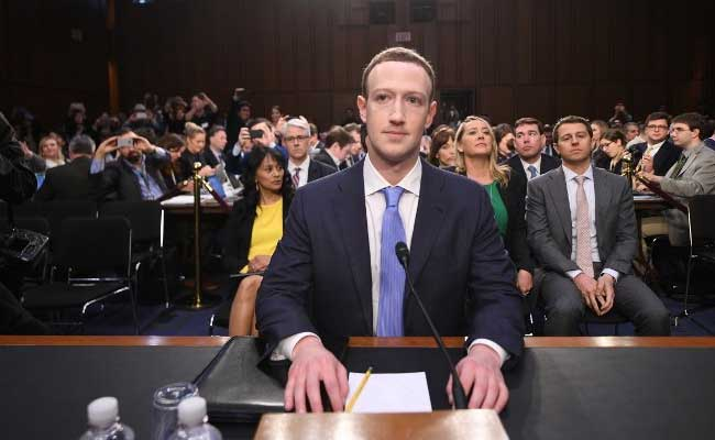 Facebook Shares Record Best Day in 2 Years as Zuckerberg Deals With Lawmakers
