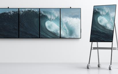 Microsoft's Surface Hub 2 may make office work cooler