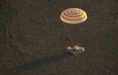 Trio back on Earth from ISS after five months in space