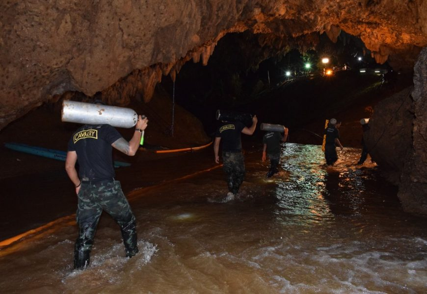 Thai cave rescue: everyone is out and safe