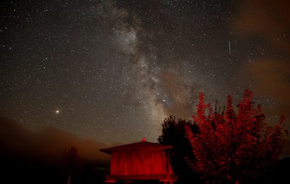 In Pictures: Perseids Meteor Shower 2018